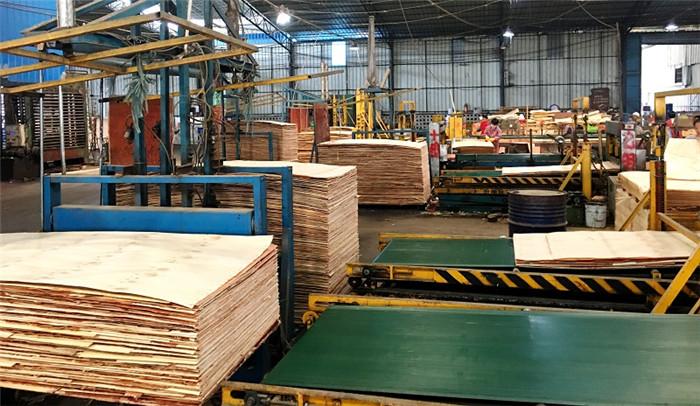 建筑模板工厂