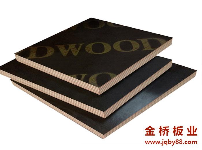 建筑木模板中双面覆膜模板是怎么样的?