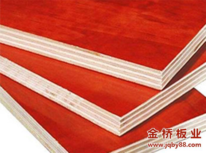 胶合板与建筑红板的区别主要在哪些方面?