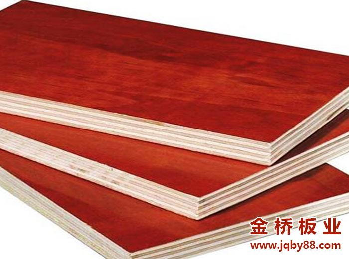 新县碧桂园项目使用金桥板业木模板