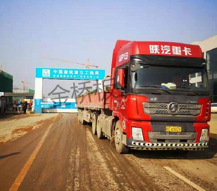金桥板业木模板厂家成功与九江保税区项目合作