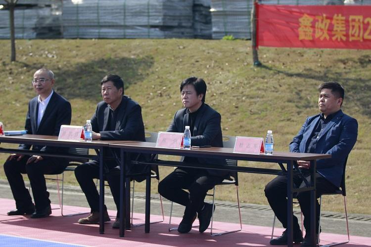 金桥春季军训开营仪式在桃江基地举行