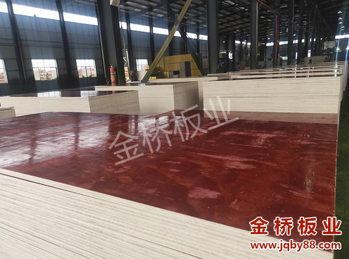 两次成型建筑木模板生产厂家选金桥板业!