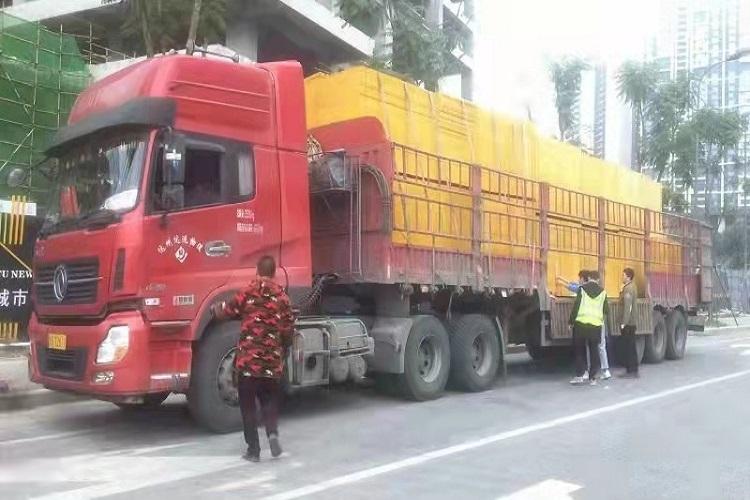 重庆恒大中渝广场项目使用金桥板业建筑木模板