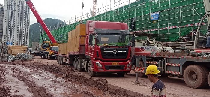 金桥板业提供重庆市浦里生态园区项目建筑木模板
