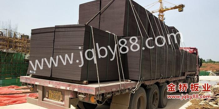 金桥板业提供武汉恒大旅游城项目覆膜模板