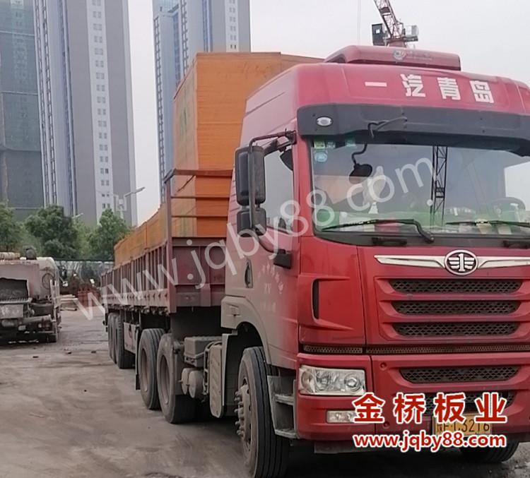 湘潭长房万楼公馆使用金桥板业建筑木模板