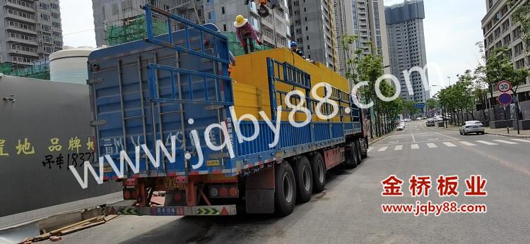 天府大悦城项目使用金桥板业木模板